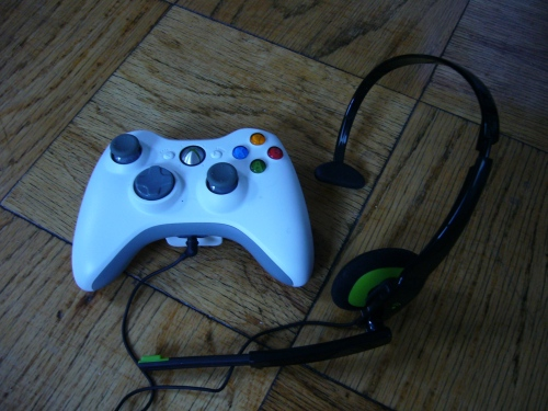 360 Controller and Plantronics Headset