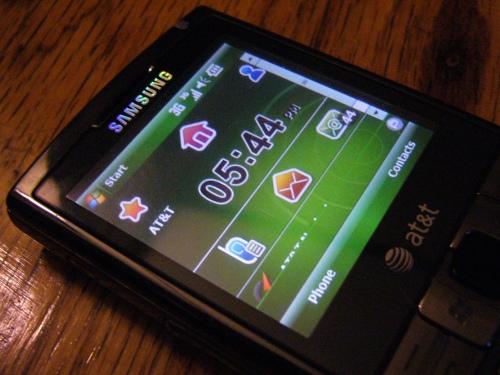 Samsung Epix Screen