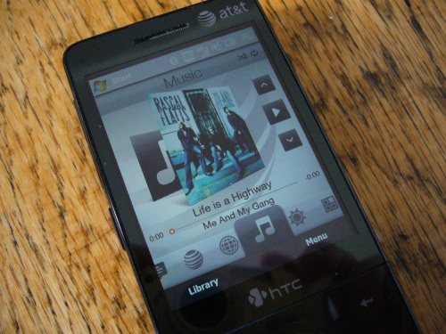 TouchFlo 3D Music App