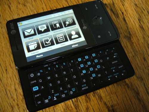HTC Touch Pro Keyboard