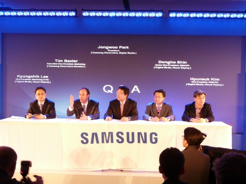 Samsung hosted a Q&A today