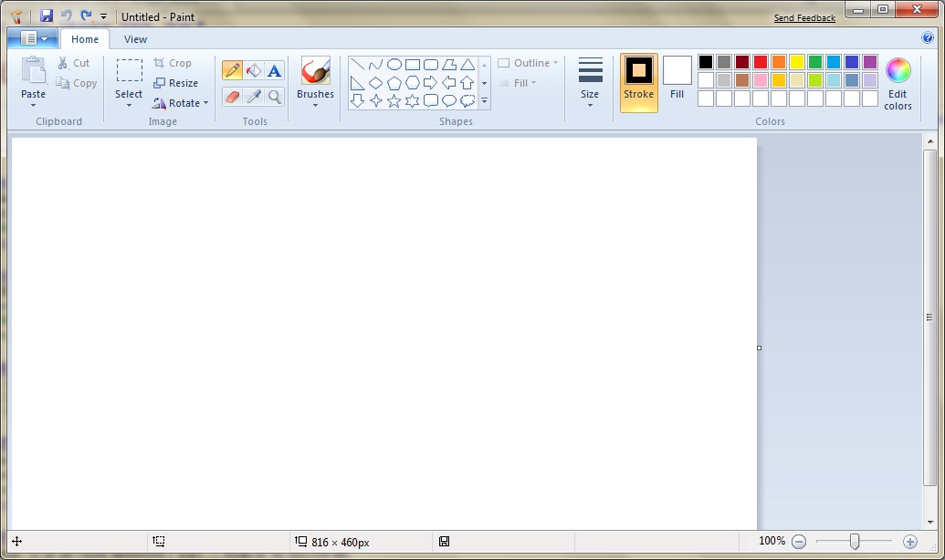 Windows 7 Paint Theonbutton Durham Computer Services