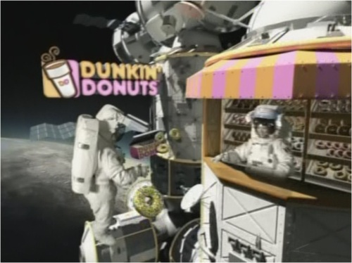 Dunkin in space