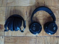 Sony DR-BT50 on the left, Motorola S805 on the right