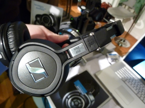 Sennheiser MM450 profile