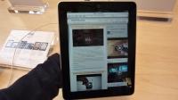 Apple iPad theONbutton portrait
