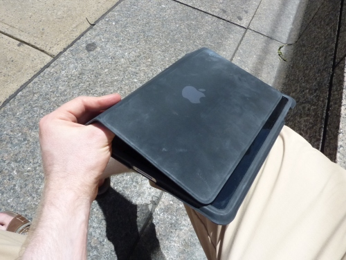 Apple iPad case sun shade 2