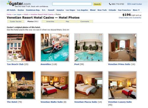 Oyster Venetian Hotel Photos