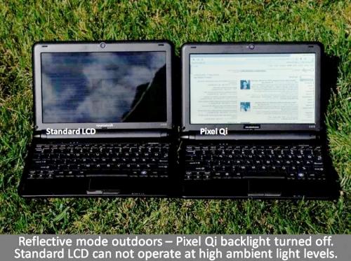 Pixel Qi netbook screen