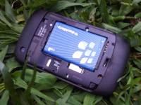 Virgin Mobile BlackBerry 8530 battery and micro sd