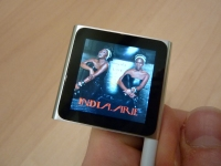 iPod Nano coverflow