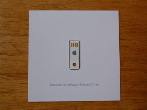 MacBook Air restore USB drive