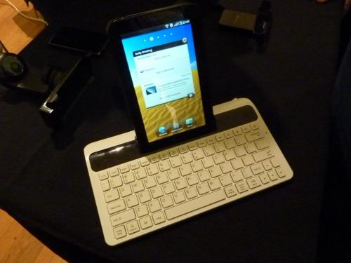 Samsung Galaxy Tab keyboard