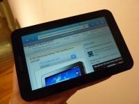 Samsung Galaxy Tab web browser