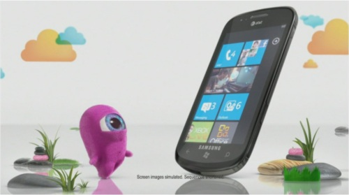 Windows Phone 7 in and out commercial