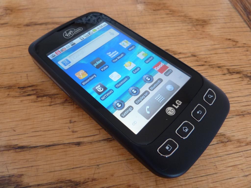 LG Optimus V 11